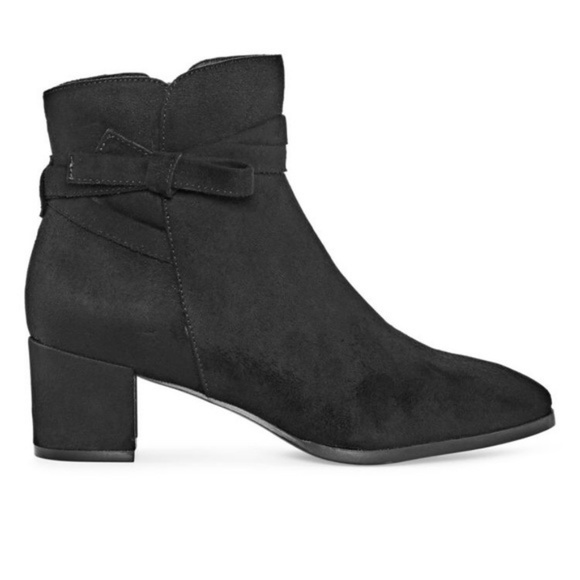 East 5th Shoes - East 5th Elyse Womens Bootie Faux Suede Zipper